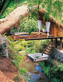 Romantic secluded getaway